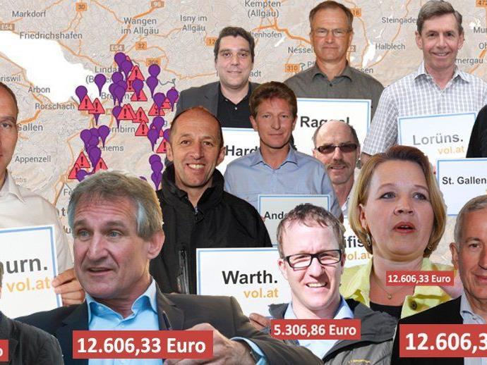 Die größte Vorarlberger Gehaltsumfrage unter Gemeindevertretern exklusiv auf VOL.AT.
