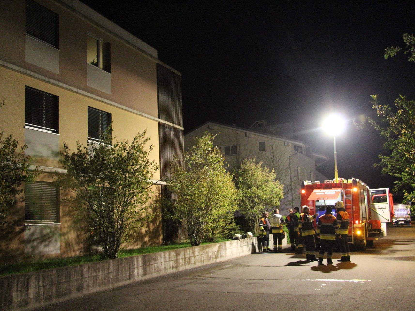 Beim Grillen geriet in Bregenz ein Balkon in Brand.