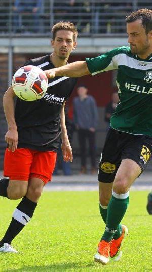 Keine Tore im Landesligaspiel zwischen Schwarzach und Dornbirner SV.