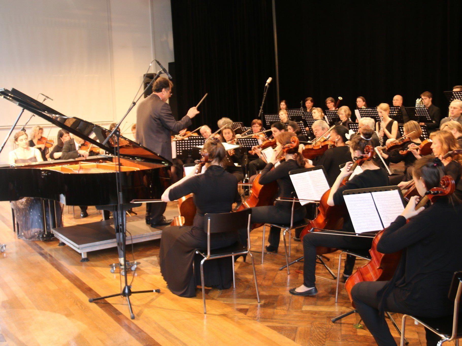Cäcilia Weber begeisterte mit dem Klavierkonzert von Grieg.