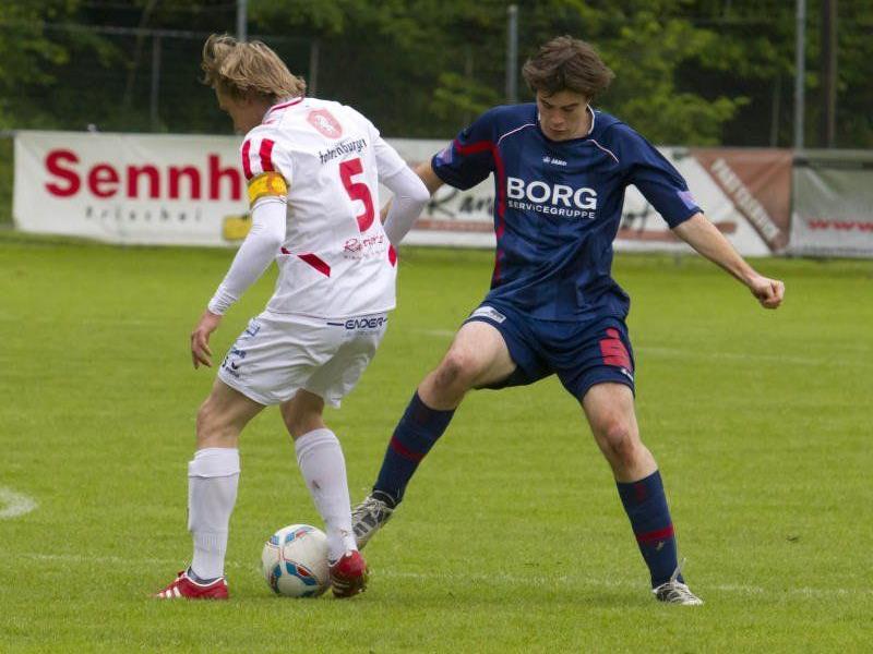 Nenzing gewinnt das Oberlandderby gegen Bludenz knapp mit 1:0