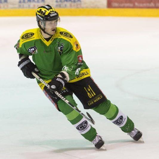 David Slivnik unterschrieb drei Jahre für den EHC Lustenau.