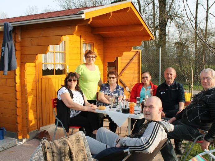 Freizeit entspannt mit Freunden und Verwandten genießen – steht für Stojan Gajic, der zwölf Jahre lang in Lauterach einen Schrebergarten besaß, im Vordergrund.