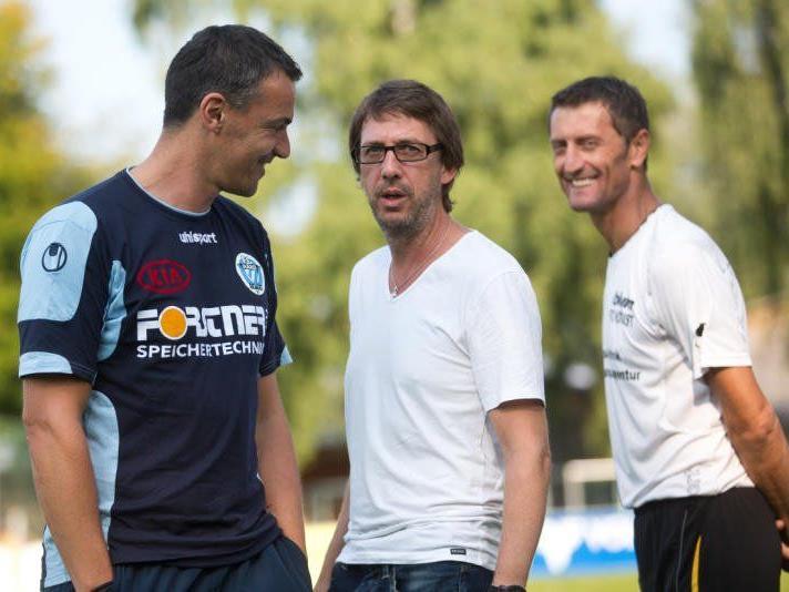 Die beiden Trainer Oli Schnellrieder und Dieter Alge hoffen jeweils auf Punktezuwachs.