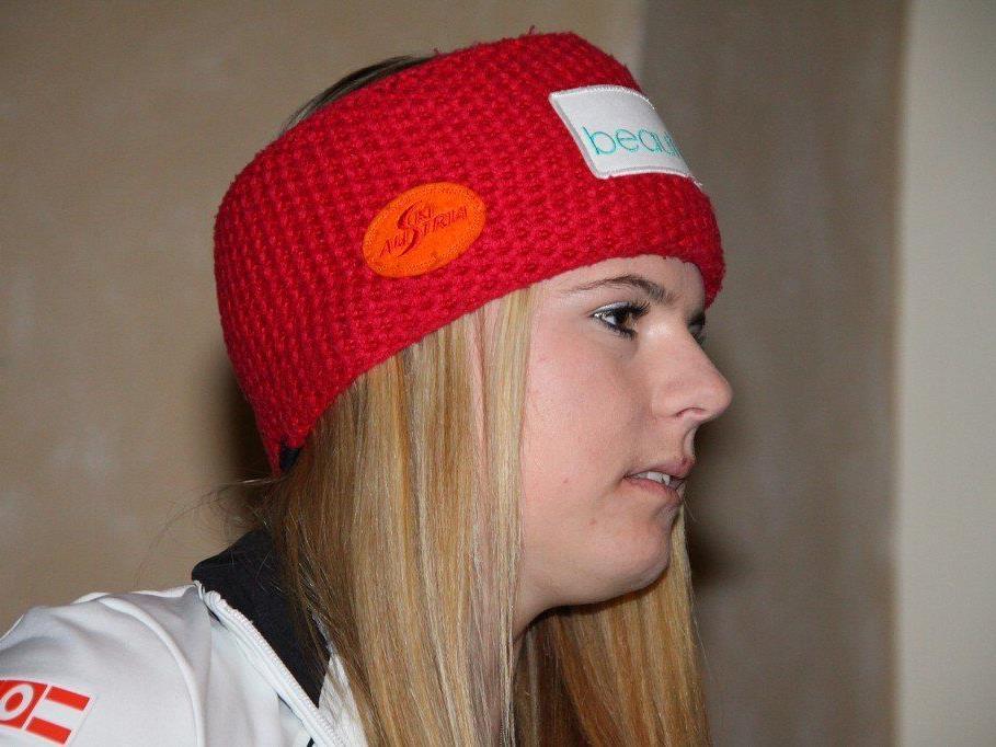 Ski Alpin Jungstar Kerstin Nicolussi sorgte mit einem Doppelpack für die große Sensation.