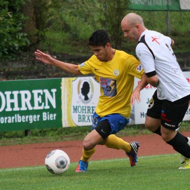 Im Spitzenspiel der Landesliga stehen sich der Drittplatzierte Langenegg und der Führende Hohenems gegenüber.