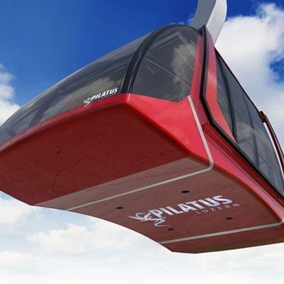 Die neue Luftseilbahn soll ihren Betrieb am Drachenberg in Luzern im April 2015 aufnehmen.
