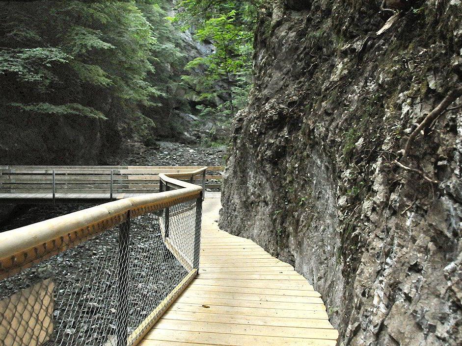 Steganlage vom Gütle bis zum Staufensee begehbar