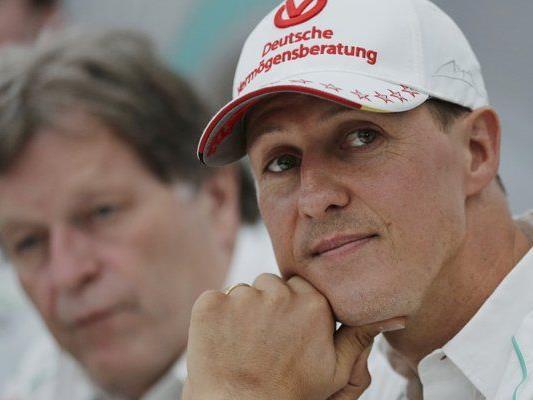 Der ehemalige Formel1-Weltmeister bei einer Pressekonferenz im Oktober 2012.