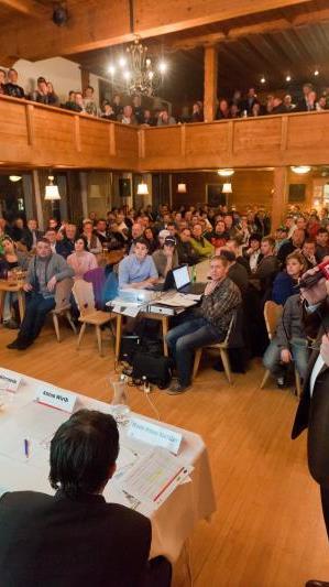Das Projekt Wälderhalle wird am Mittwoch abend im Angelika Kaufmann Saal in Schwarzenberg der Öffentlichkeit präsentiert.