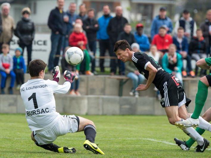 Alberschwende gewinnt gegen Lauterach mit 4:0.