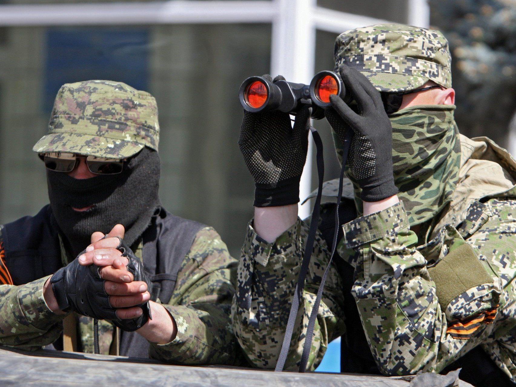Militärbeobachter weiterhin in Händen pro-russischer Separatisten.
