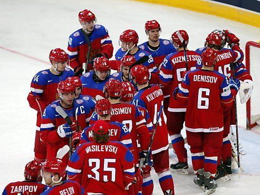 Russen erreichten Viertelfinale ohne Punkteverlust
