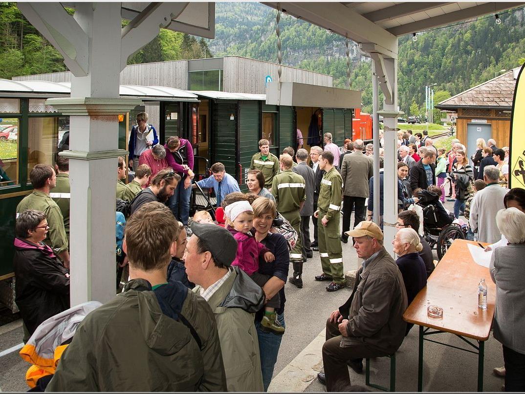 einiges los am Bahnhof Schwarzenberg