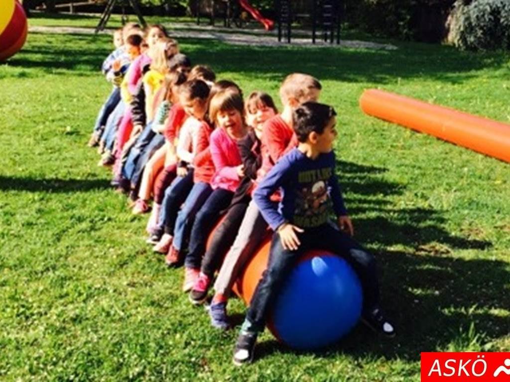Viel Spaß in der ASKÖ-Bewegungsstunde hatten die Kids der VS Dornbirn-Edlach.