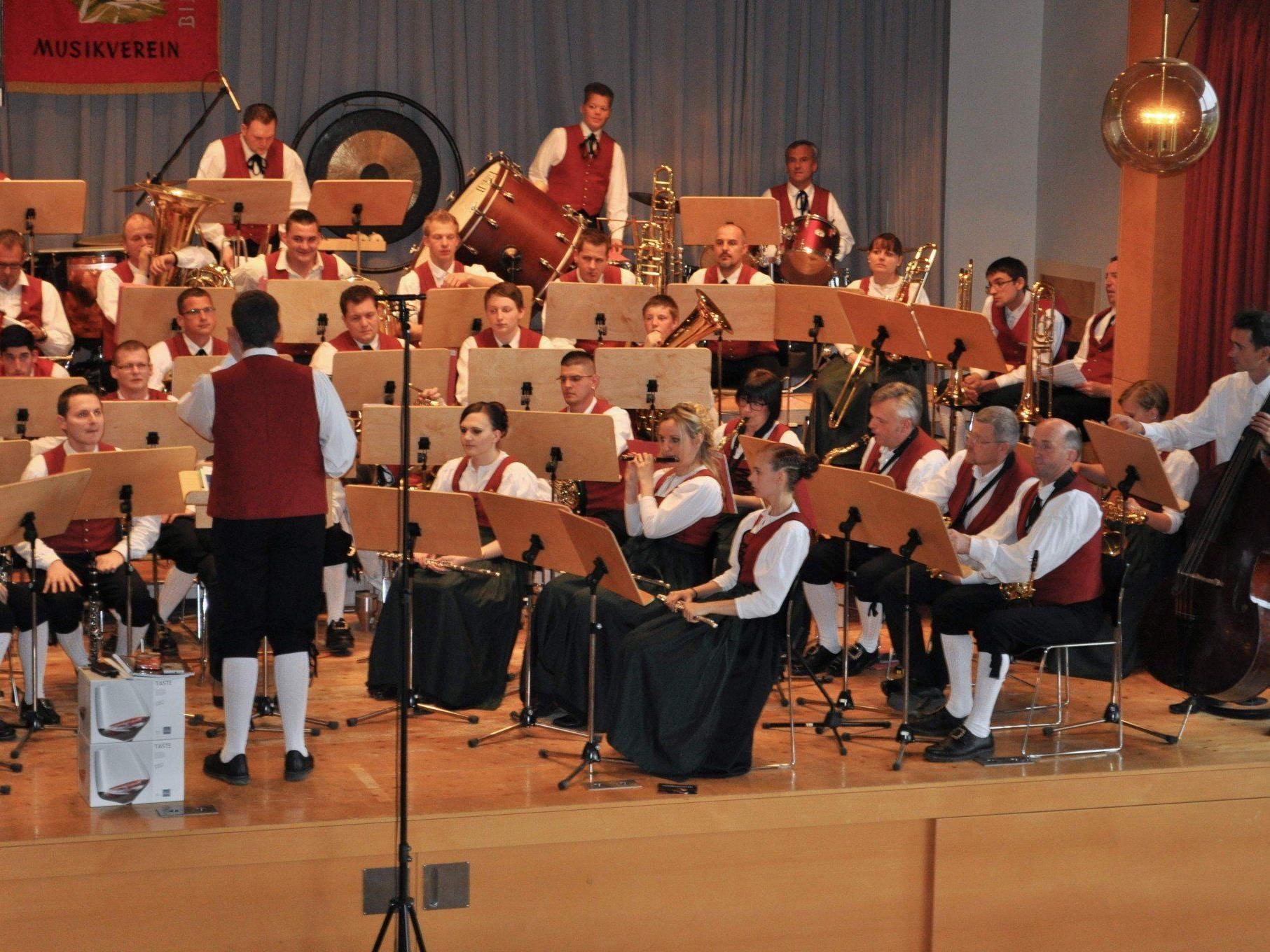 Der Musikverein Bildstein lud zum traditionellen Muttertagskonzert.