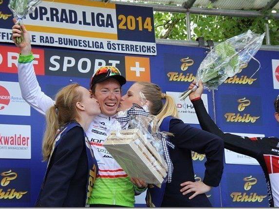 Der große Sieger vom Vorarlberg Rad Grand Prix heißt Fabian Schnaidt.