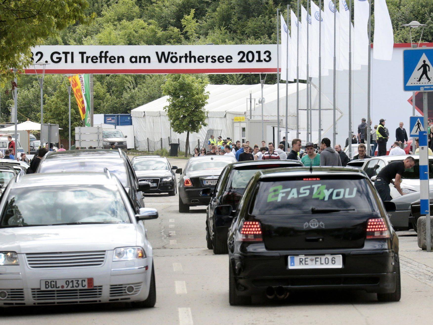 Offizieller Termin 28. bis 31. Mai - Polizei verstärkte bereits Präsenz im Großraum Wörthersee.