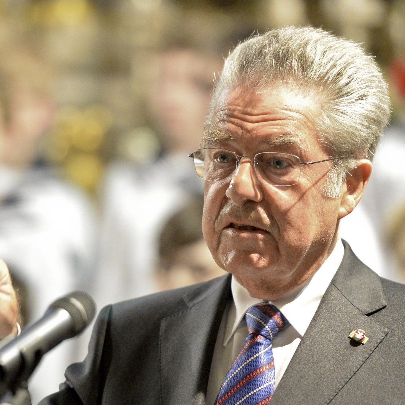 Bundespräsident Heinz Fischer appeliert an alle Österreicher wählen zu gehen.