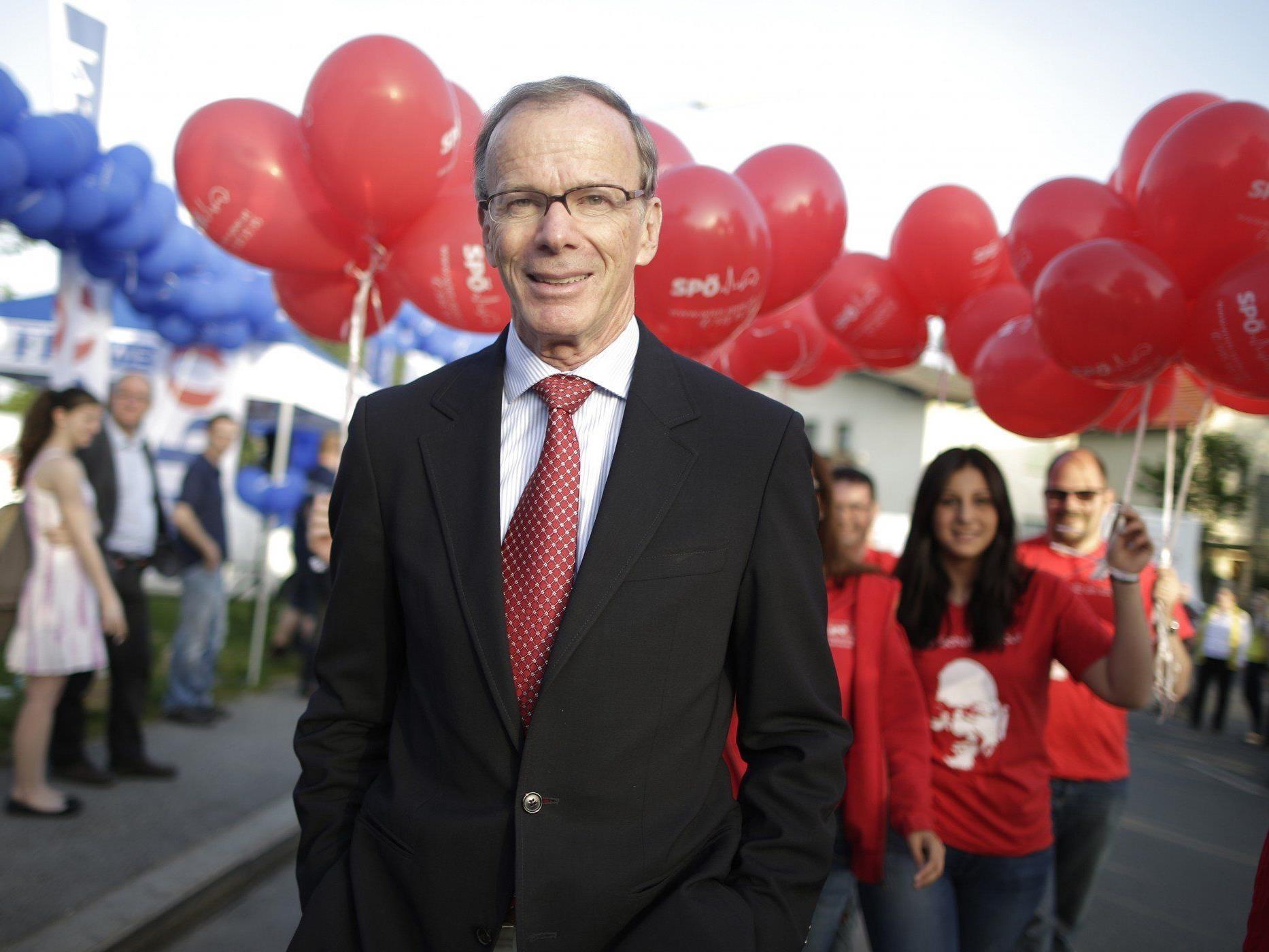 Europawahl: Die erste Hochrechnung für Wien zeigt die SPÖ auf Platz 1.