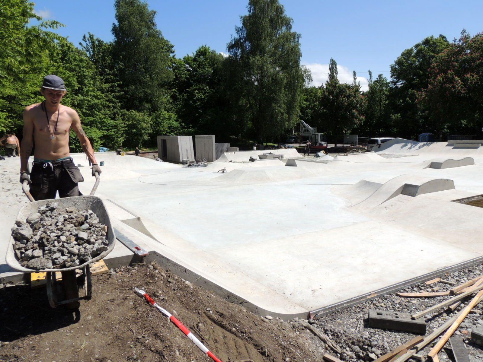 Skatepark in Kürze fertiggestellt