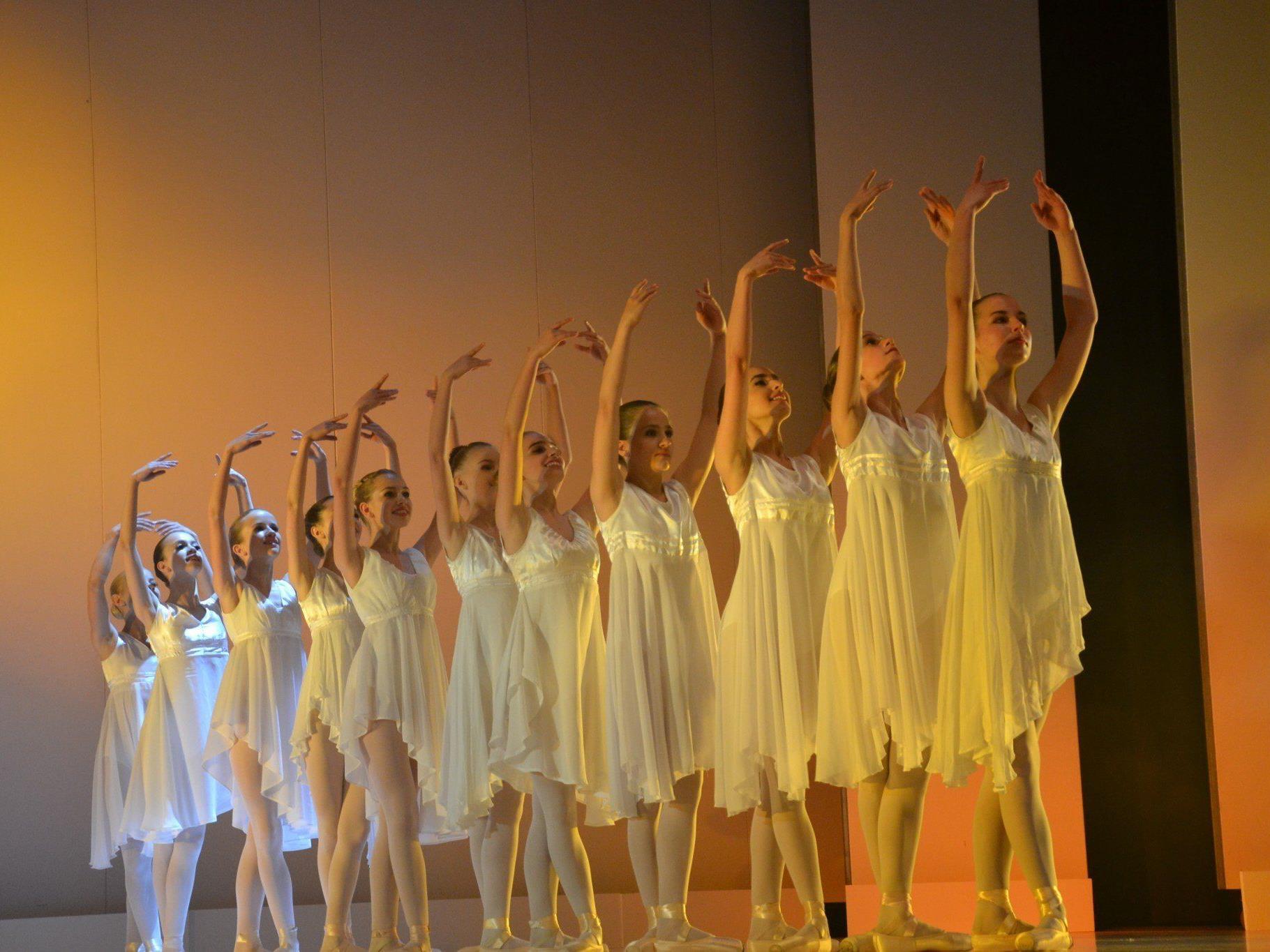 Eine faszinierende Tanzpräsentation gab es Ende Mai in der Götzner Kulturbühne zu sehen