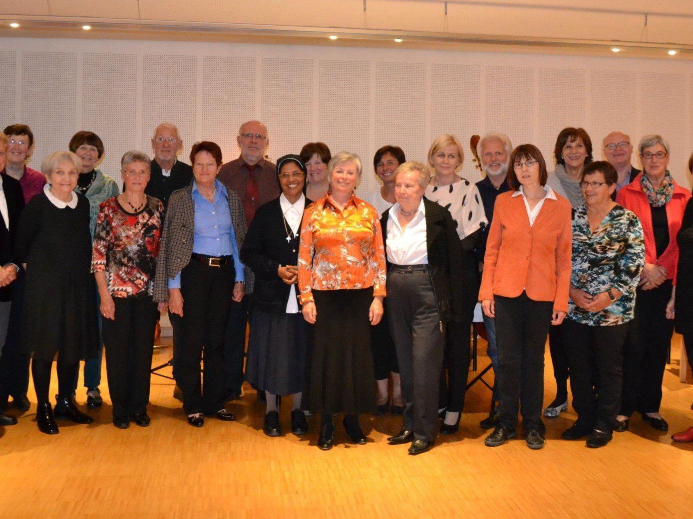 In St. Arbogast wurden langjährige freiwillige MitarbeiterInnen der Caritas Vorarlberg für ihr großartiges Engagement geehrt.