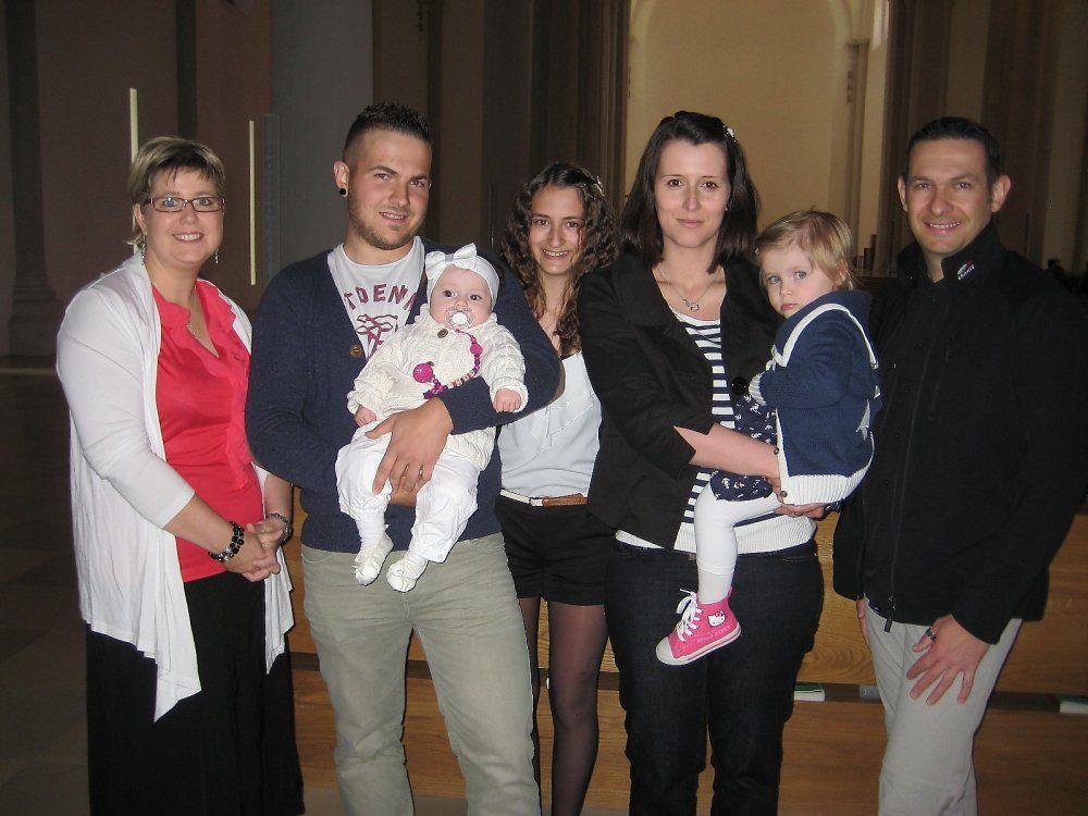 Mary-Lou Winkler wurde getauft.