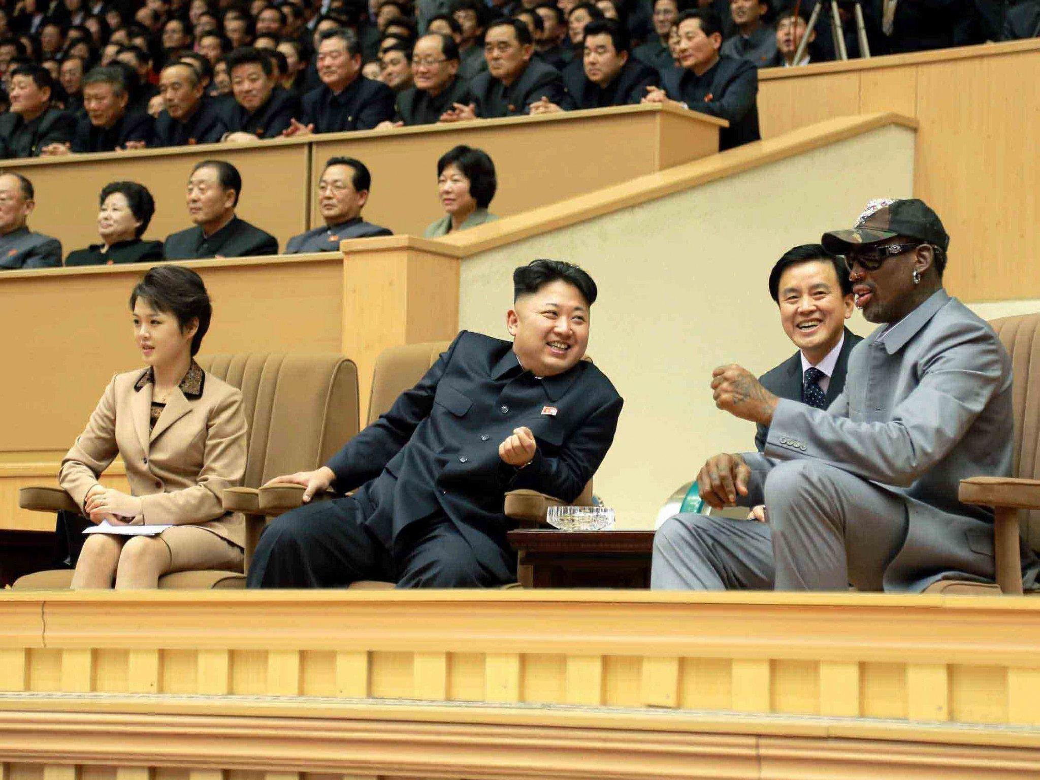 Früherer Basketballstar berichtete von Reise nach Nordkorea.