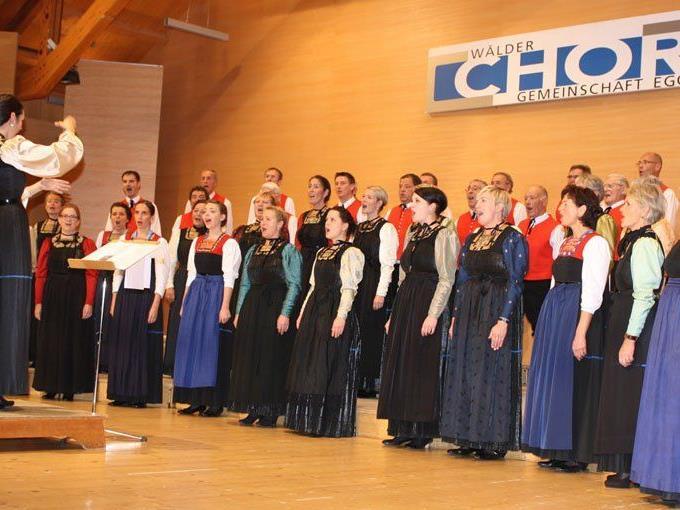 Die Wälder Chorgemeinschaft freut sich auf viele Besucher bei den Pfingstkonzerten.