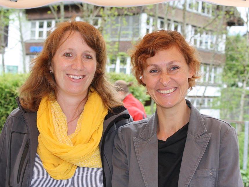 Weltladen-Obfrau Carmen Willi und Mitorganisatorin Sandra Kempf.