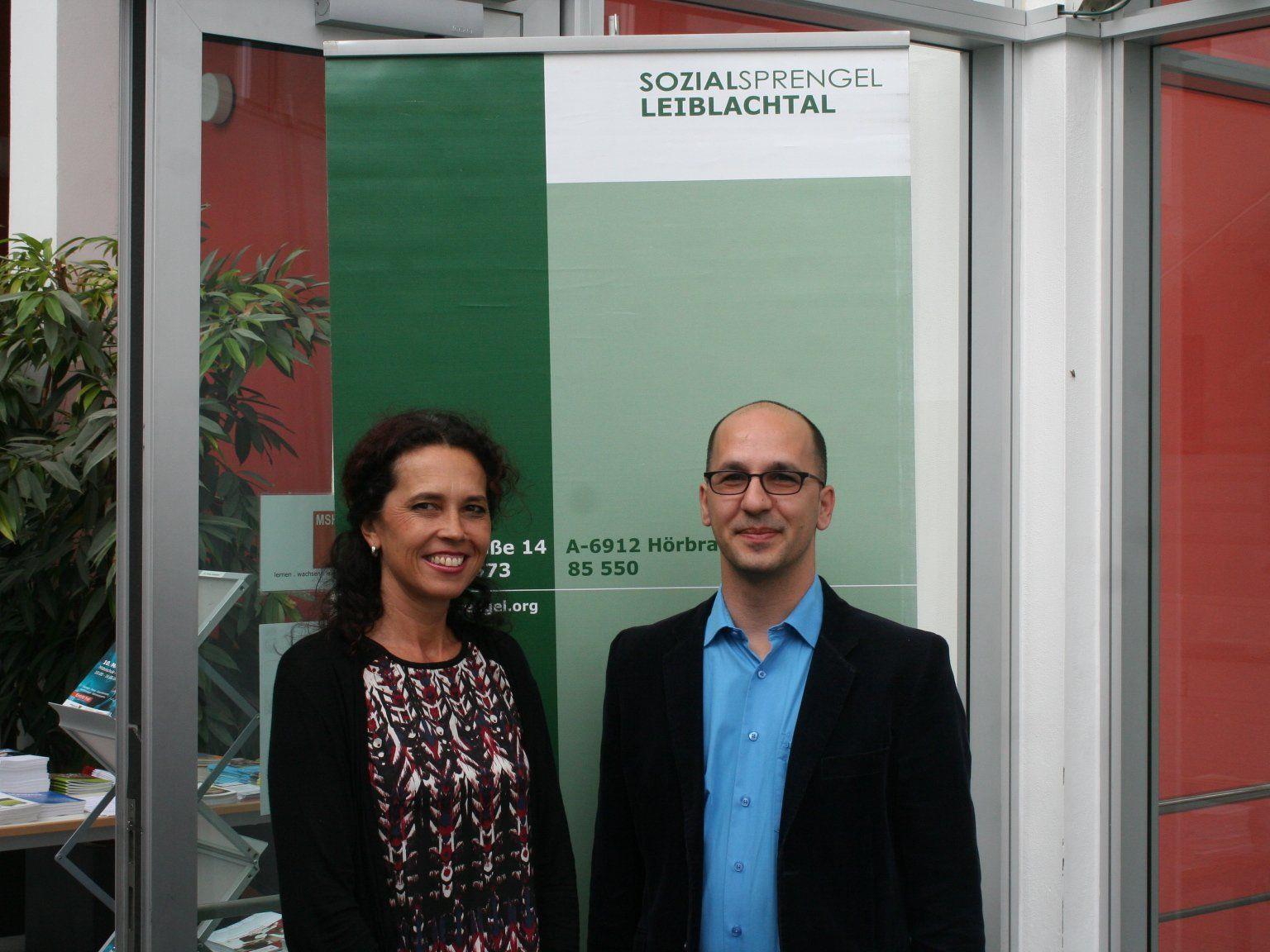 Wesna Reiner und Thomas Winzek begrüßten zahlreiche Besucherinnen und Besucher