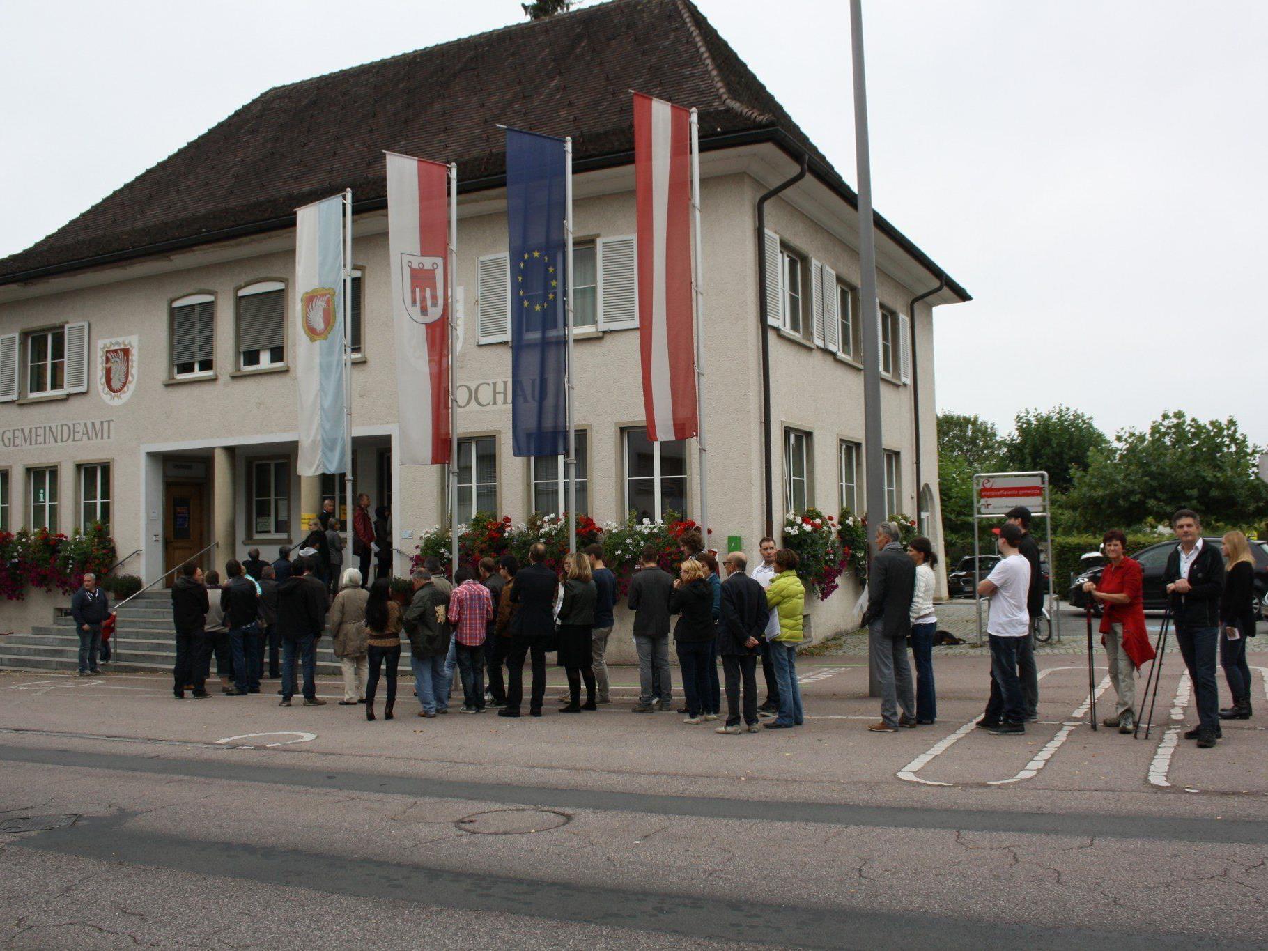 """Auch bei den """"Europawahlen"""" sind die Gemeindebürger eingeladen, zur Wahl zu gehen und von ihrem Wahlrecht Gebrauch zu machen."""