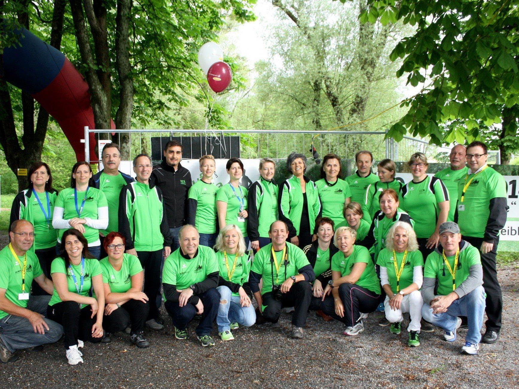 """Die Laufsportgruppe """"LaufTreff Leiblachtal"""" freute sich als engagierter Veranstalter über einen erfolgreichen 1. Charity-Lauf-Event in Lochau am Bodensee."""