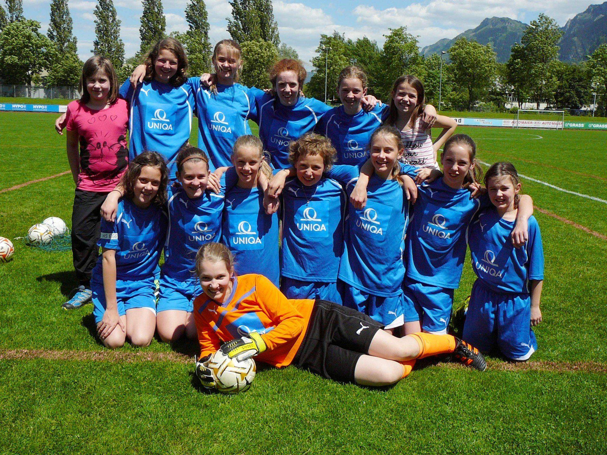 Die junge Egger Mannschaft schaffte den siebten Endrang im Landesfinalturnier.