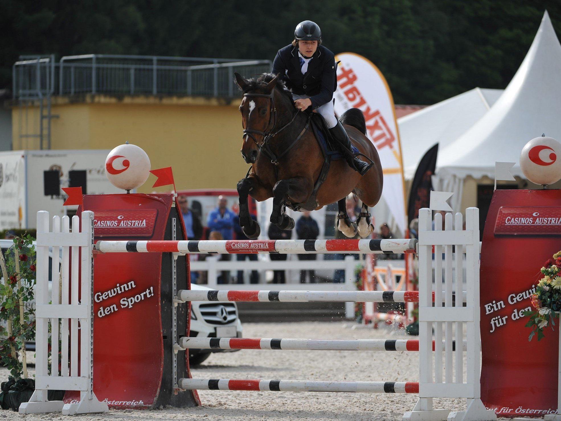 Der Dornbirner Christian Rhomberg gewinnt GP in Lamprechtshausen