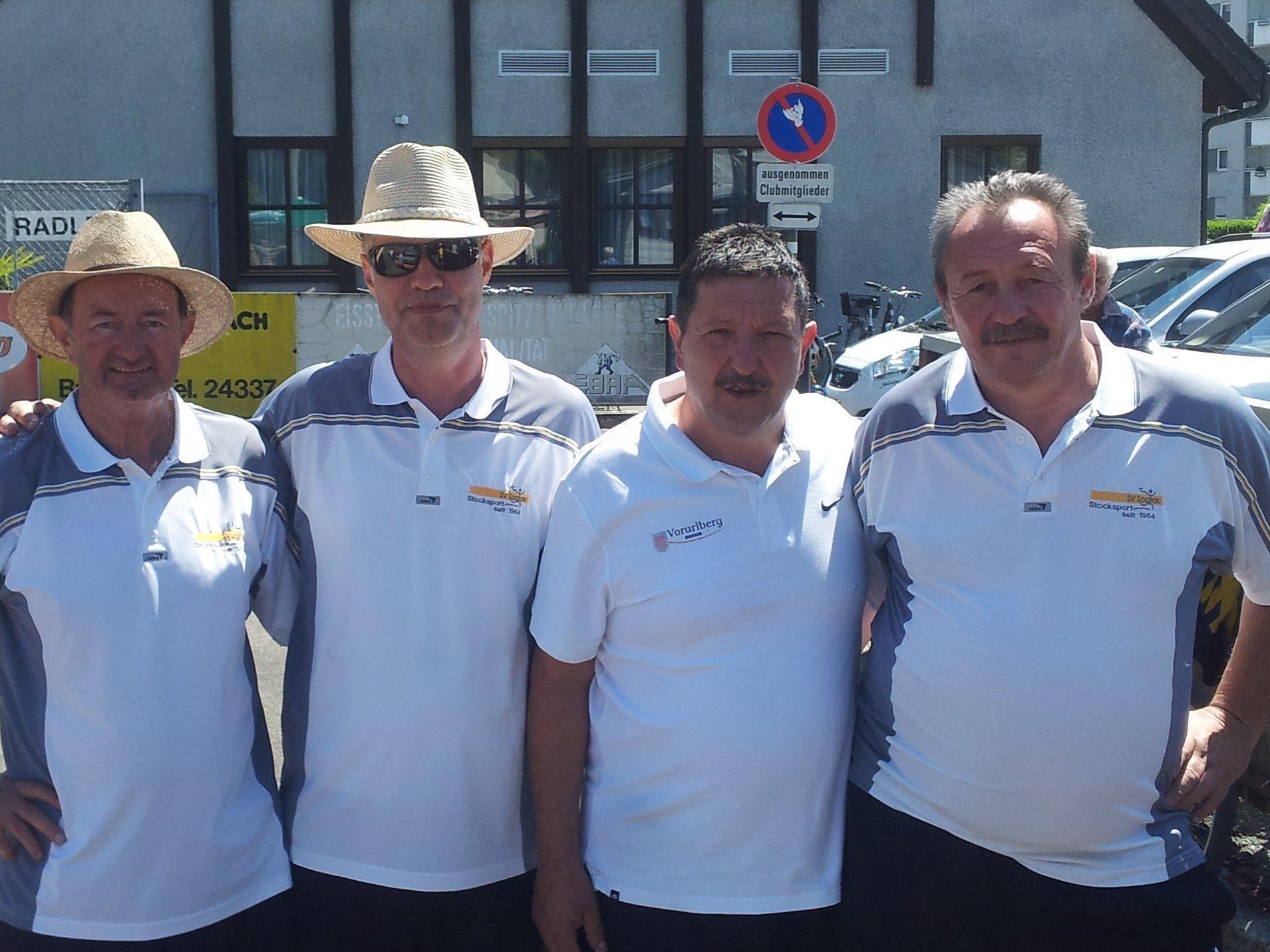 Das erfolgreiche Seniorenteam des SV Lochau STocksport