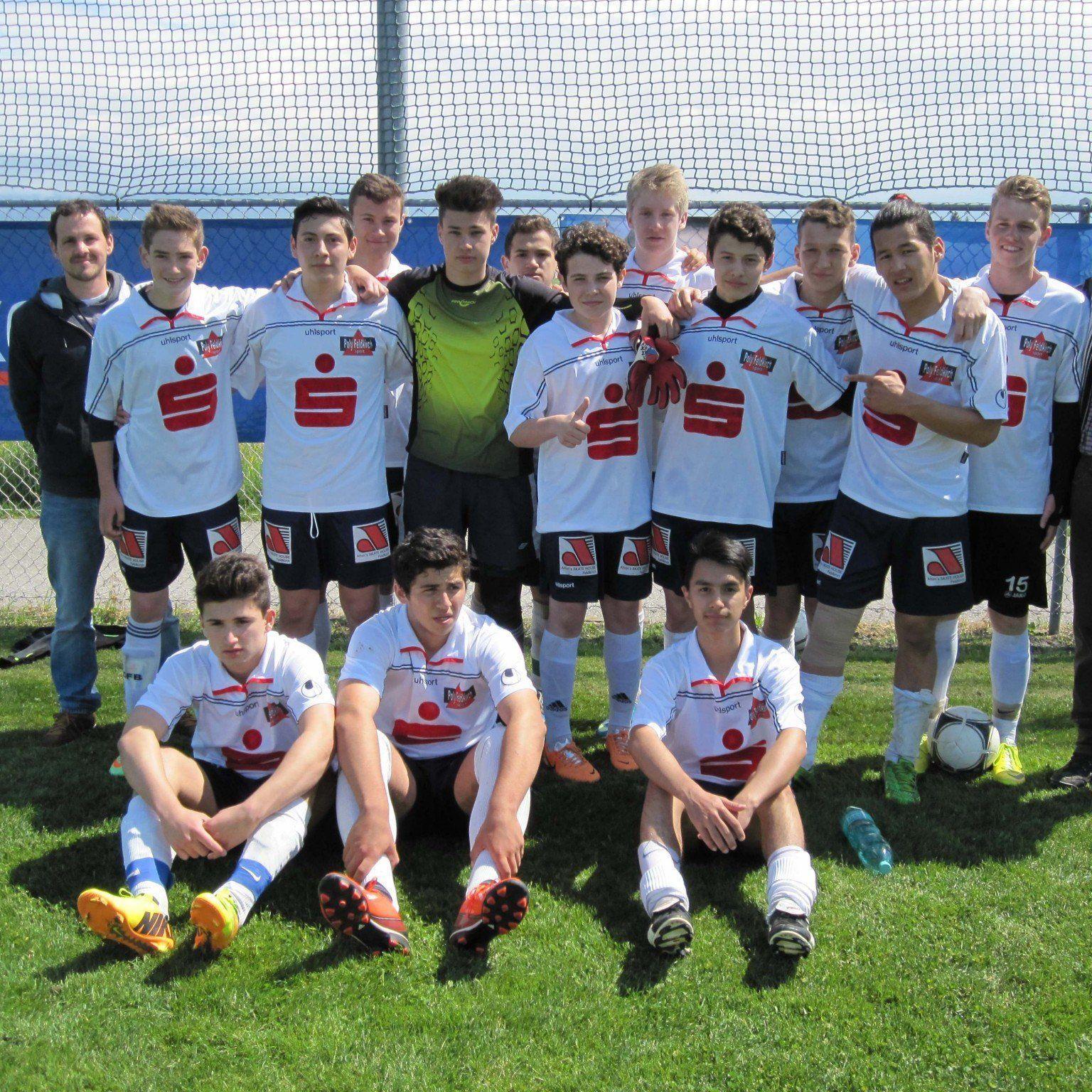 Die Schüler der Polytechnischen Schule Feldkirch holten den Fußball-Poly-Cup.