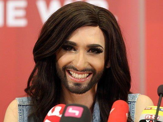 Nach dem ESC-Sieg im Glück: Conchita Wurst
