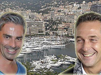 Rafreider und Strache feierten angeblich am Samstag in Monaco gemeinsam den Geburtstag eines Unternehmers.