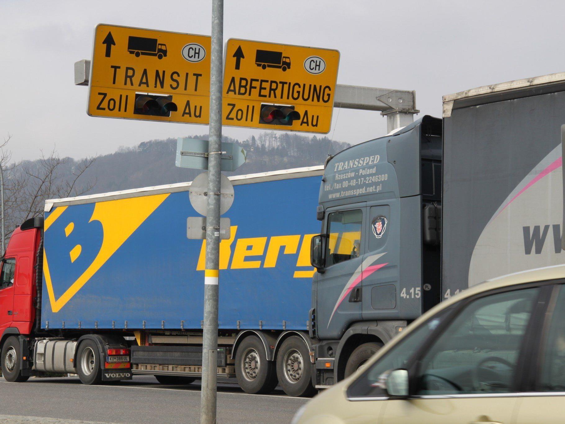 Personaleinsparungen beim Zoll werden in Lustenau nicht gerne gesehen.