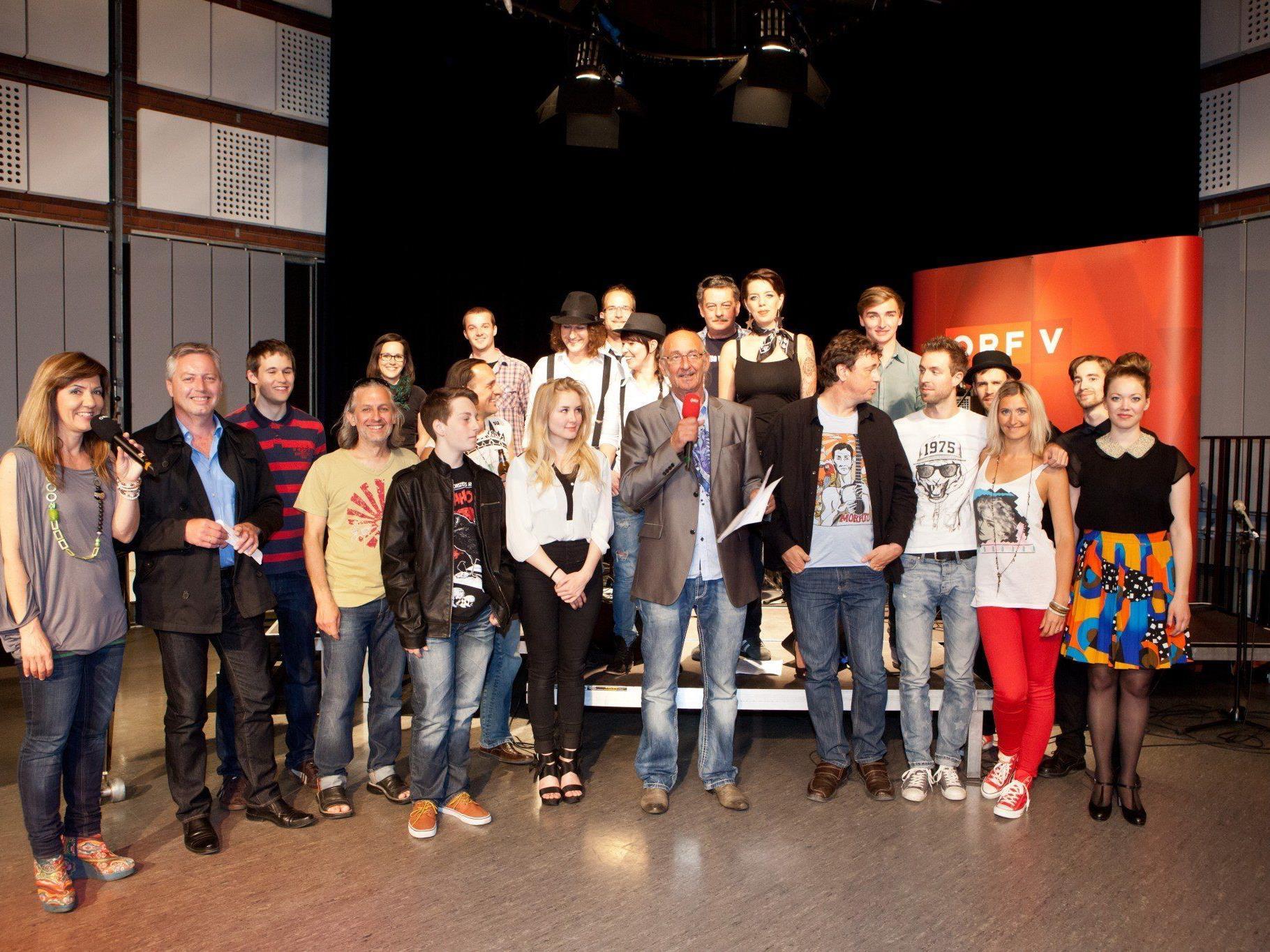 Vorausscheidung des mundARTpop/rock-Wettbewerbs ging erfolgreich über die Bühne.