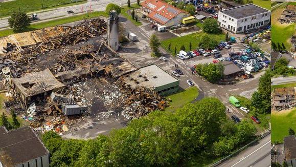 Exklusive Fotos So Sieht Die Brandruine Von Mobel Weiler Aus Der