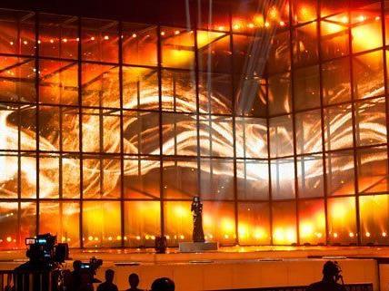 Conchita Wurst auf der Eurovision Song Contest-Bühne in Kopenhagen.