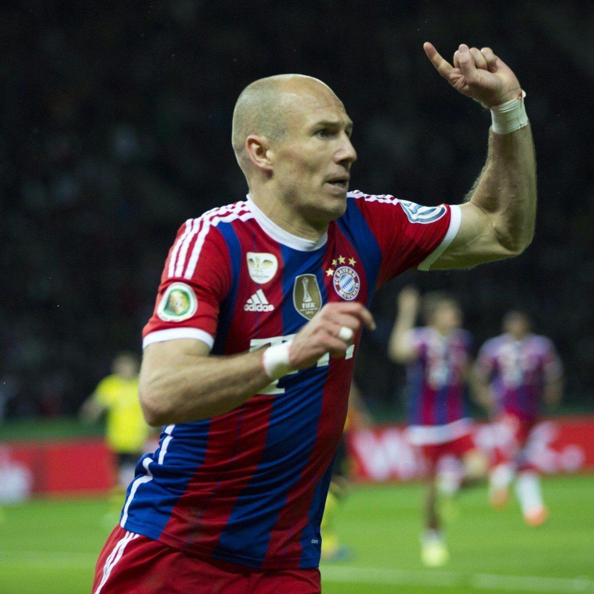 Arjen Robben sorgte für das vorentscheidende 1:0 in der Verlängerung.