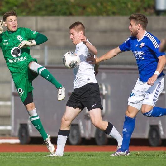 Aus der Regionalliga West wird es zwei oder drei Absteiger geben.
