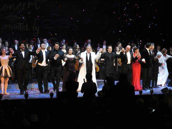 Das Konzert fand wieder im Wiener Burgtheater statt.
