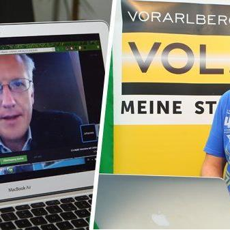 Live-Hangout von Marc Springer (VOL.AT) mit Johannes Huber (VN).