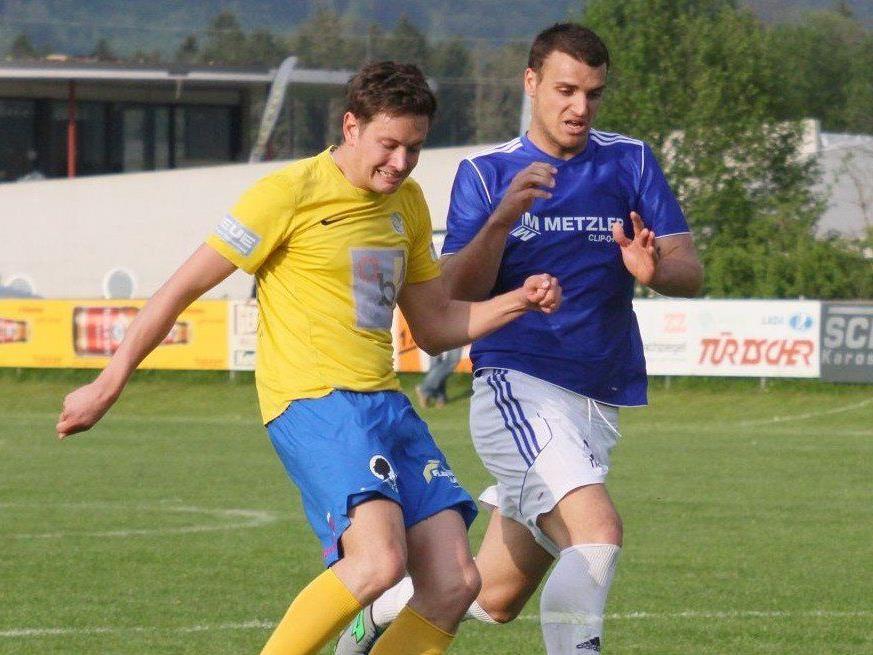 Brederis unterlag dem Dornbirner SV knapp mit 2:3.