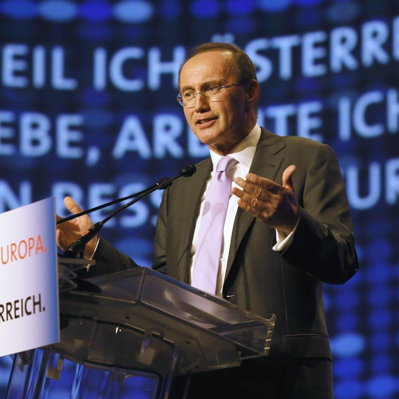 ÖVP-Spitzenkandidat Othmar Karas ist auch Vize-Präsident des Europäischen Parlaments.